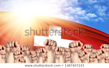 Switzerland Labour movement, workers union strike Stock photo © stevanovicigor