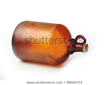 Butelki starych koniak biały streszczenie restauracji Zdjęcia stock © gavran333