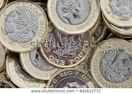 İngilizler · pound · parlak · altın · 3d · render - stok fotoğraf © siavramova