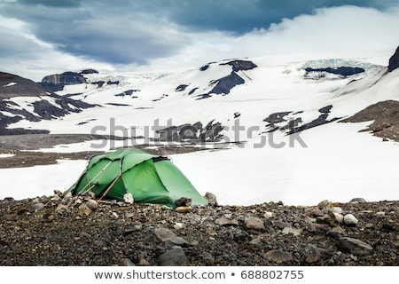 nieve · montanas · nubes · de · tormenta · cáucaso · Georgia · vista - foto stock © bsani