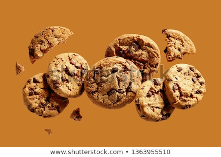 Food Background with Cookie Pieces  Stock photo © dariazu