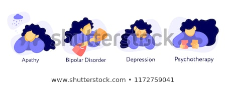 bipolar disorder   medical concept stock photo © tashatuvango