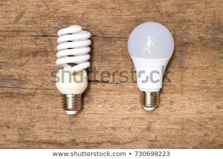 古い · 対 · エコ · 電球 · 絞首刑 · 1 - ストックフォト © mhristov