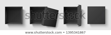doboz · cd · vektor · piros · 3D · kész - stock fotó © netkov1