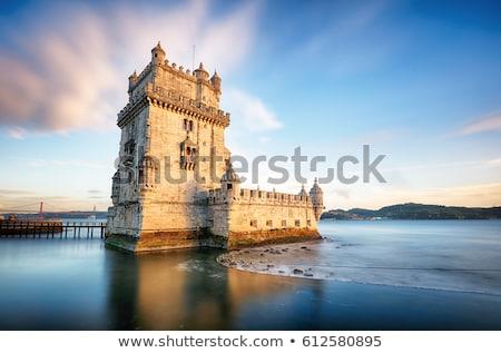 toren · Lissabon · stad · Portugal · mijlpaal · architectuur - stockfoto © compuinfoto