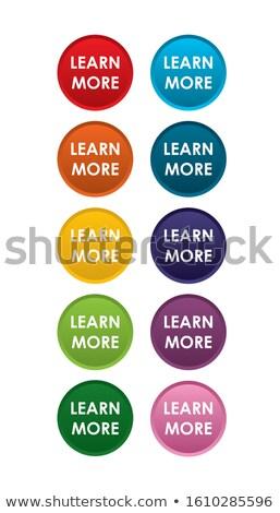 Compras vetor roxo ícone web botão Foto stock © rizwanali3d