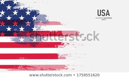 Patriota grunge britânico união bandeira texto Foto stock © Bigalbaloo