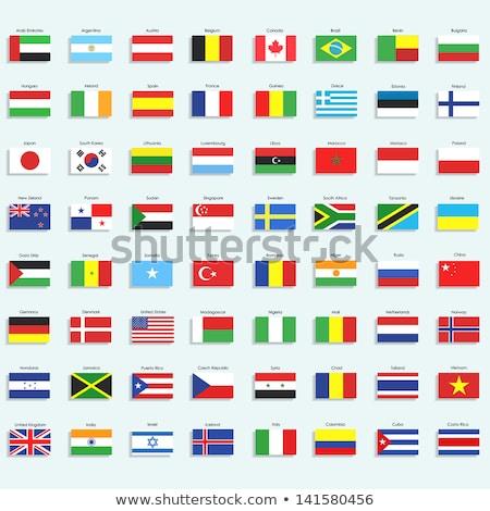 Объединенные Арабские Эмираты Исландия флагами головоломки изолированный белый Сток-фото © Istanbul2009