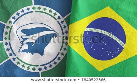 Brazylia flagi puzzle odizolowany biały działalności Zdjęcia stock © Istanbul2009