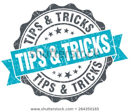 Tips business winkelen stempel informatie Stockfoto © Ustofre9