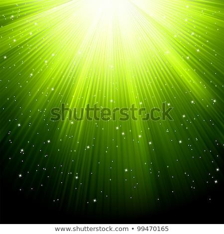 yeşil · parıltı · kar · eps · mutlu - stok fotoğraf © beholdereye