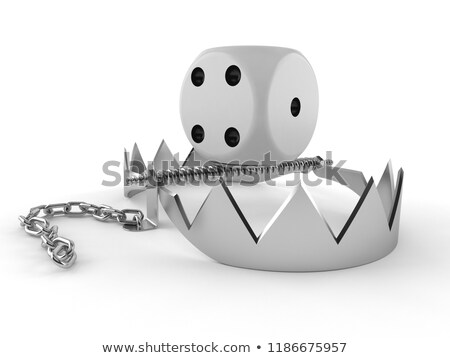Trapped 3D Character Stock photo © make