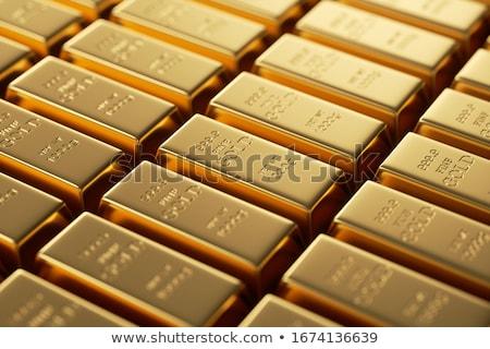 gold bullion and nuggets  stock photo © OleksandrO