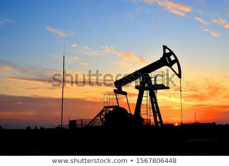 Background of oil derrick. Stock photo © RAStudio