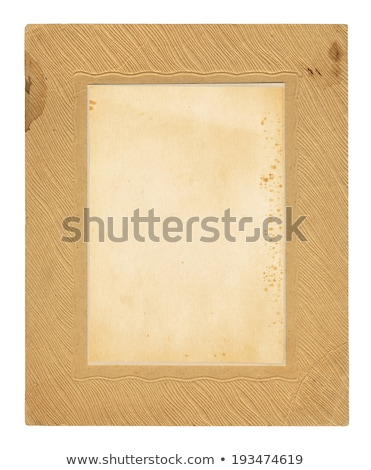 Antique Cardboard Frame stock photo © aleishaknight