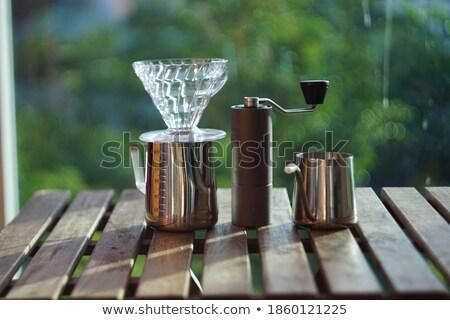 Noir cristal whiskey isolé verre liquide Photo stock © naumoid