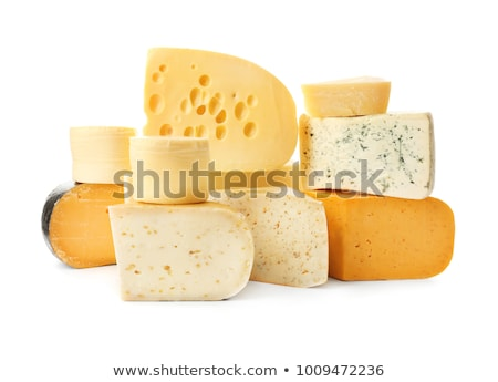 Stock fotó: Sajt · fehér · krém · egészséges · élelmiszer · hozzávaló