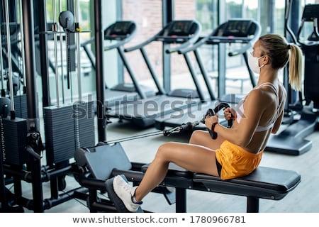 Gym & Fitness. stock photo © Kurhan