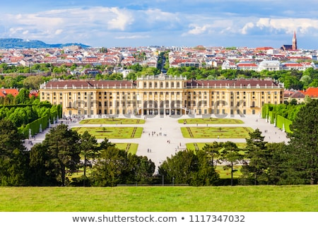 schonbrunn palace garden stock photo © vichie81