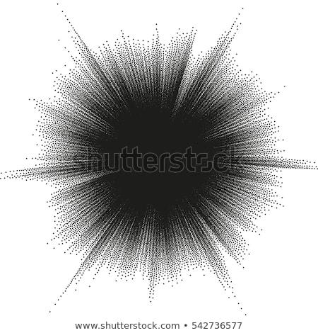 Yaz satış soyut yarım ton güneş eps Stok fotoğraf © beholdereye