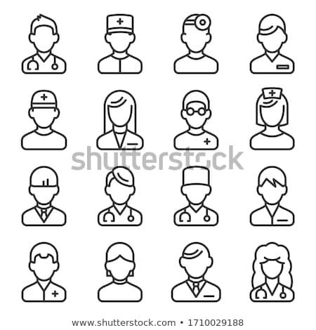 Zdrowia wsparcie ikona projektu odizolowany ilustracja Zdjęcia stock © WaD