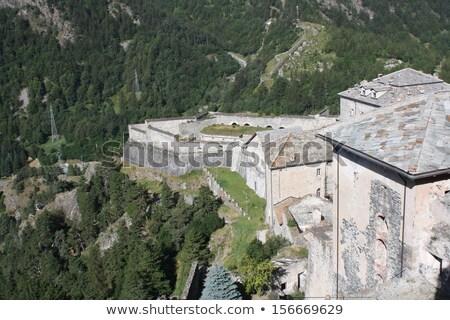 Fenestrelle fortress in Italy, Alps Stock photo © LianeM