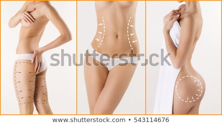 body of woman for correction cosmetic surgery Stock photo © ssuaphoto