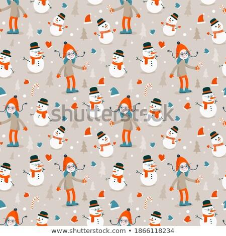 vector · Navidad · ilustración · magia · árbol · vacaciones - foto stock © articular