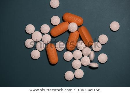 wydrukowane · diagnoza · pomarańczowy · zamazany · tekst · medycznych - zdjęcia stock © tashatuvango