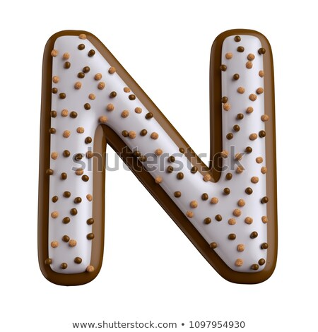 letter n candies stock photo © olena