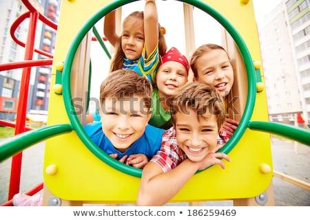 мало · ребенка · Smart · мера · глазах - Сток-фото © deandrobot