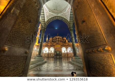Kék mecset Törökország Isztambul öreg nap Stock fotó © artjazz