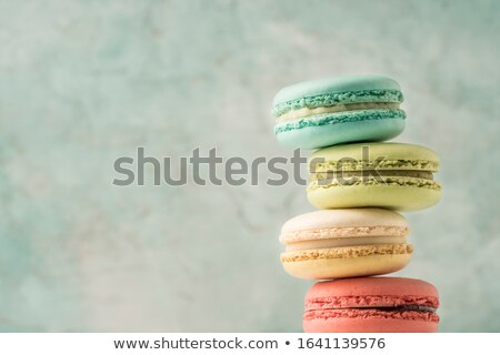 french macaroon Stock photo © M-studio