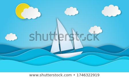 sea, sun and clouds stock photo © Antonio-S