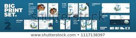 szett · vállalati · arculat · branding · vektor · fény - stock fotó © ildogesto