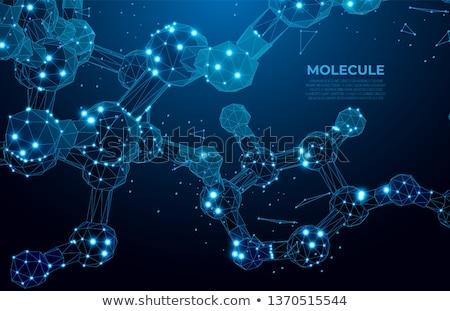 3D · moléculas · água · 3d · render · ilustração · modelo - foto stock © SmirkDingo