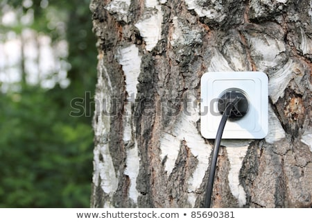 alternatief · energie · bio · gas · hernieuwbare · energie · fotovoltaïsche - stockfoto © manfredxy