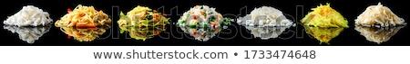 saláta · ázsiai · stílus · füstölt · tyúk · uborkák - stock fotó © dash