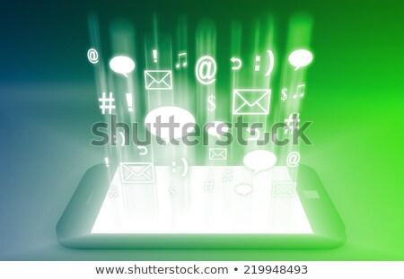 Emerging Mobile Market Foto stock © kentoh