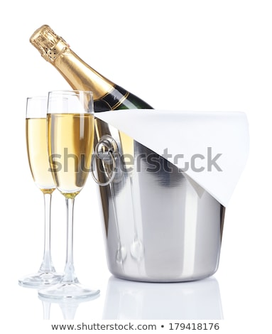 resepsiyon · şampanya · grup · insanlar · tost · parti · ayakta - stok fotoğraf © ruslanshramko