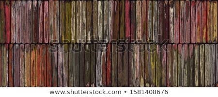 Old wooden colorfull wall Stock photo © boggy