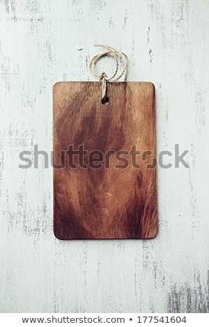 Wooden kitchen utensils from olive wood Stock photo © furmanphoto