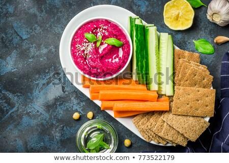 различный · свежие · овощи · белый · изолированный · зеленый · красный - Сток-фото © furmanphoto
