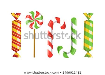 Candy cartoon concept icons Stock photo © netkov1