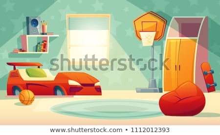 Set childrens room interior furniture collection Stock photo © jossdiim