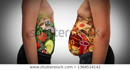 Obesity And Hunger Stock photo © Lightsource