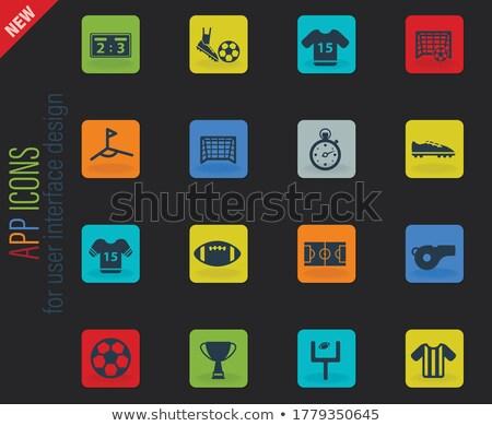 サッカー 単に アイコン シンボル webアイコン ユーザー ストックフォト © ayaxmr