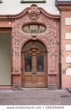 Westminster · apátság · fő- · bejárat · építészeti · részlet · kapualj - stock fotó © prill