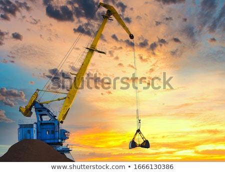 crane stock photo © raywoo