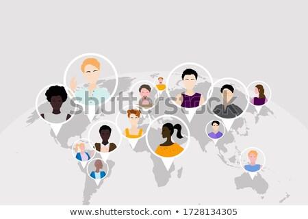 Ilustração diferente países terra imagem cortesia Foto stock © wavebreak_media